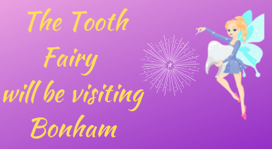 Our students will be having a surprise visit by the Tooth Fairy!