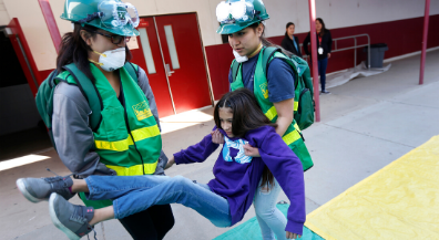 Ready to help: Silva students get emergency-response training