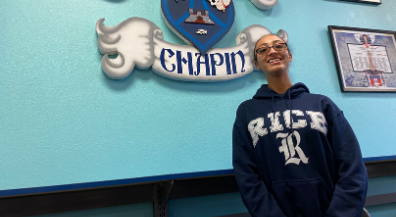 Chapin senior earns QuestBridge scholarship to Rice University