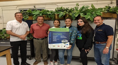 Coronado students earn professional floral design certification