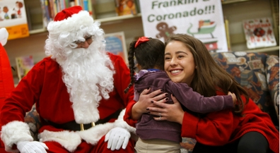 Franklin, Coronado StuCos come together to bring joy to students at Hawkins