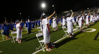 Irvin High School hosts its 61st graduation ceremony