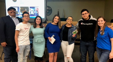 Irvin students help promote 2020 Census