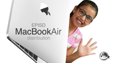 MacBook Air distribution dates for middle and high schools set