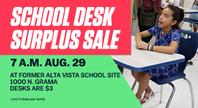 EPISD to sell surplus student desks to families for a small fee