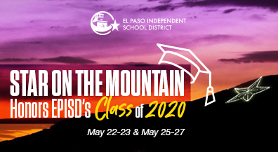 Star on the Mountain to shine in honor of EPISD's Class of 2020