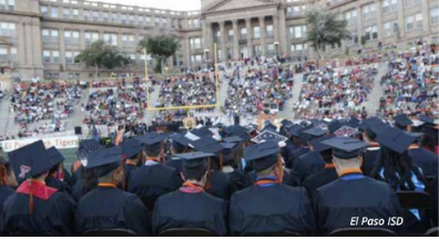 Texas State of Education Report features photo of El Paso High