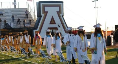 Andress High School commencement closes fourth day of EPISD Graduation Season