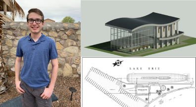 CCTE student earns national architectural drafting prize