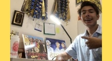 EPISD Senior Spotlight: Aron Basurto, Coronado High