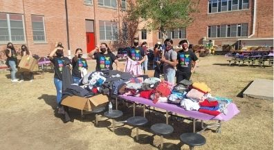 Clothing, school supplies help students and staff in need in Jefferson neighborhoods