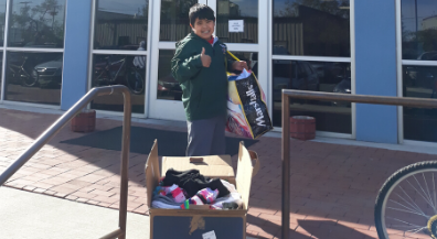 Sock drive donations delivered to agencies helping homeless El Pasoans