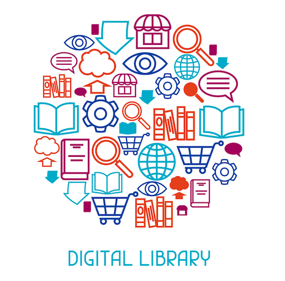 Digital Library Image