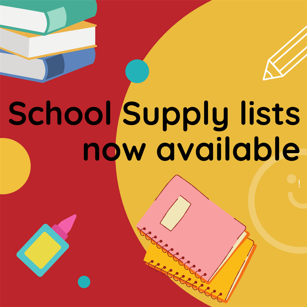 2020-2021 Supply Lists