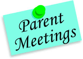 Parent Meetings with Principal