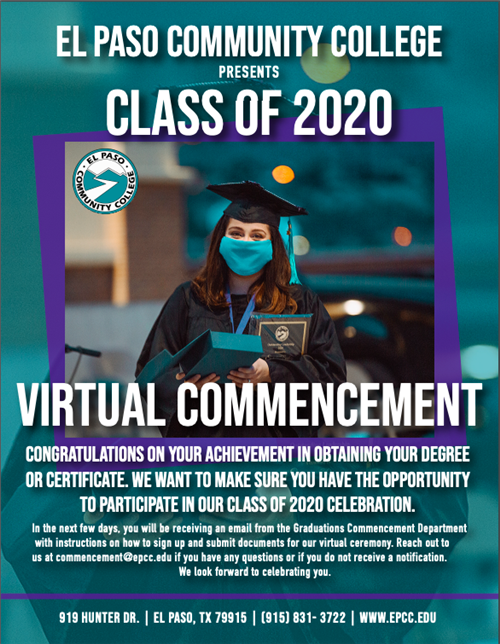 EPCC Class of 2020 Virtual Commencement
