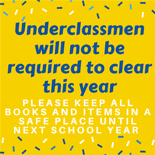 Underclassmen are not required to clear