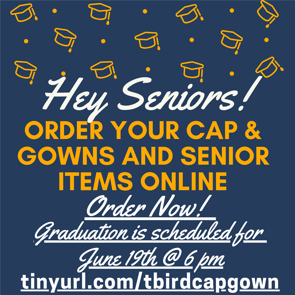 Order you cap and gown today!