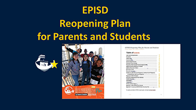 EPISD Reopening Plan for Parents and Students